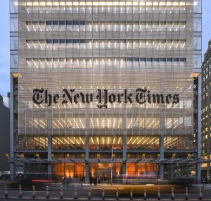 New York Times Plans on Scaling Back on Print Edition by 2020