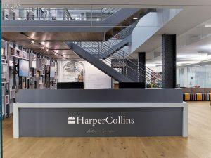 HarperCollins e-Book Revenue Declines in Q1 2017