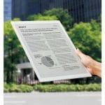 Sony Announces the DPT-RP1 13.3 PDF Reader
