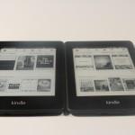 Amazon Kindle Paperwhite 1 vs the Paperwhite 2