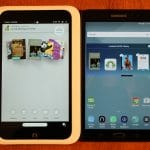 Samsung Galaxy Tab A Nook vs Nook HD