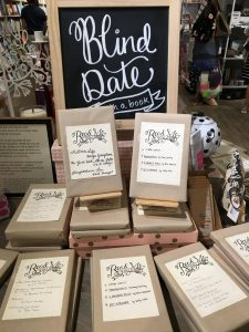 Do you want to go on a blind date with a book?