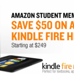 Amazon Kindle Fire HD 8.9 Discounted for Students
