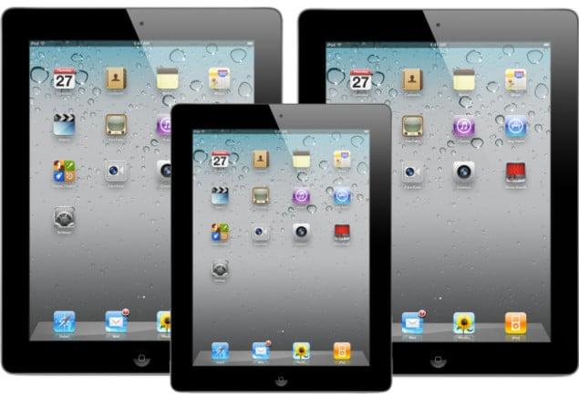 Will apple make a 7 inch ipad dimensions
