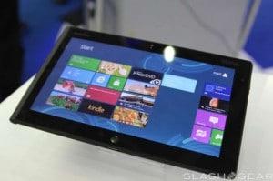 Lenovo ThinkPad Tablet Running Windows 8