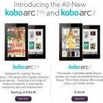 Kobo Arc 7 and Kobo Arc 7 HD Now Available at Chapters