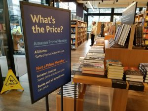 Amazon Bookstore gives Prime Members Discounts on Books