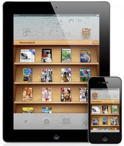 iOS 5 newsstand leads to surge in iPad magazine subscriptions