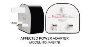 Kindle Fire Tablets Have Faulty Power Adapters