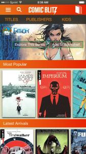 ComicBlitz Now Has an iPhone App
