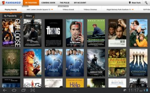 Fandango Movies app now available for tablet PCs