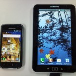 A sneak peek of the Samsung Galaxy Tab