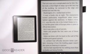 Good e-Reader 13.3 vs Kindle Oasis