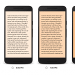 Google Play Books Introduces new Night Reading Feature