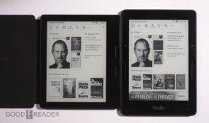 Amazon Kindle Oasis vs the Kindle Voyage
