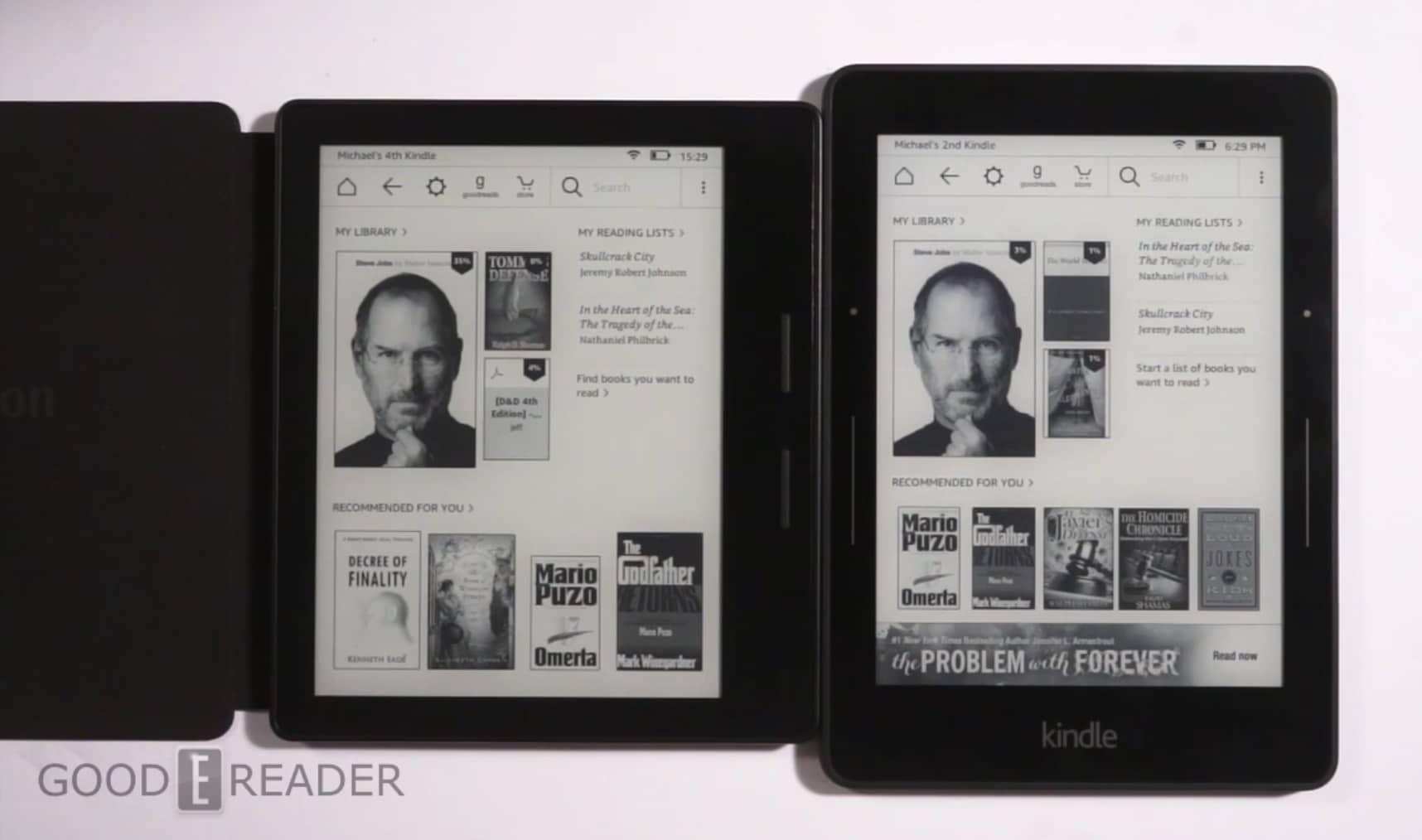 Amazon Kindle Oasis vs the Kindle Voyage - photo#26