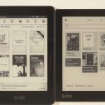 Amazon Kindle Voyage vs Kobo Aura