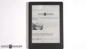 Kobo Aura H2O Edition 2 Video Review