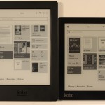 Kobo Aura H20 vs the Kobo Aura