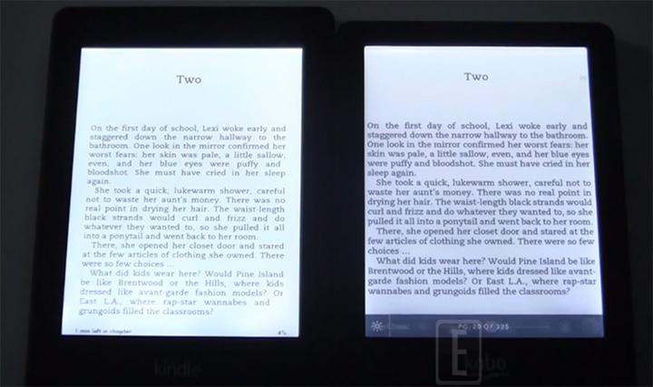 Kindle Paperwhite Vs Kobo Glo Round 2 Lighting Optimization Good E Reader
