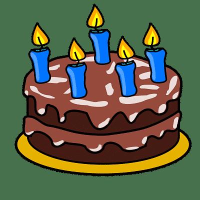Keyboard Birthday Cake