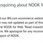 Barnes and Noble Unveils Broken Nook Website