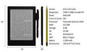 Good e-Reader 6.8 is Now Available on Indiegogo