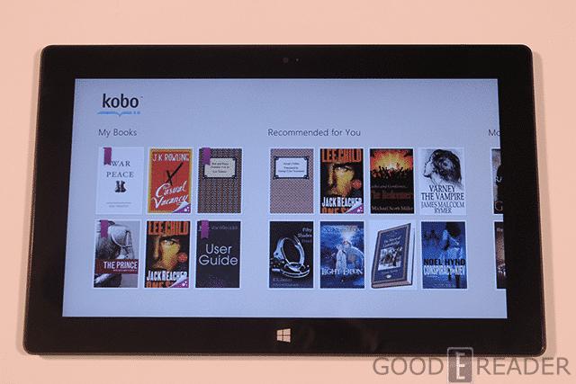 kobo  for windows 8