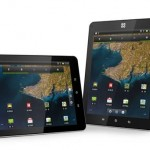 The Ten tablet from SmartQ featuring piezoelectric touch panel