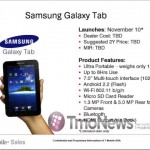 T-Mobile US launching Galaxy Tab on Nov 10