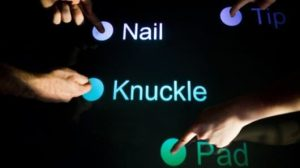 Tapsense Smart Touchscreens Revealed
