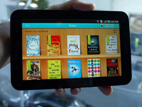 kobo readers hub