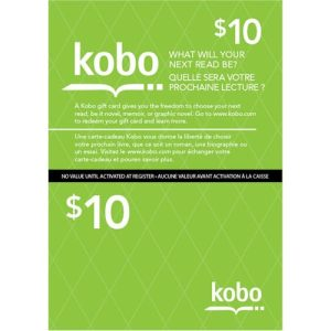 Contest – Win 2 Kobo $10 Gift Cards