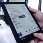 ASUS developing LCD e-reader