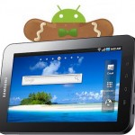 Galaxy Tab will have Gingerbread and Honeycomb updates