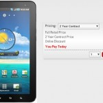 Verizon offering the Samsung Galaxy Tab for $300