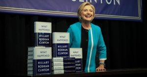 Amazon Removes One Star Reviews of Clinton Election Memoir