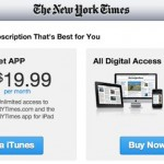 New York Times Agrees to Apple Terms, Offering In-App Subscriptions for the iPad