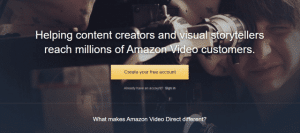 Amazon Video Direct wants to compete against YouTube