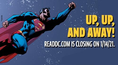The DC Digital Comics Shop is Closing