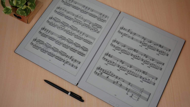 First look at the Gvido Dual Screen Sheet Music Reader