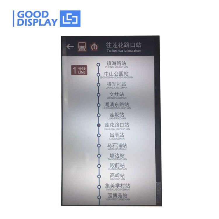 largest 31.2 inch e-ink big screen menu advertising display large e-ink display, GDEP312TT2-D