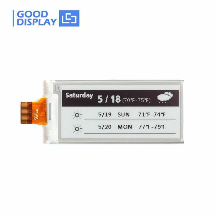 2.9 inch Black and white partial refresh e-paper display module GDEM029E97