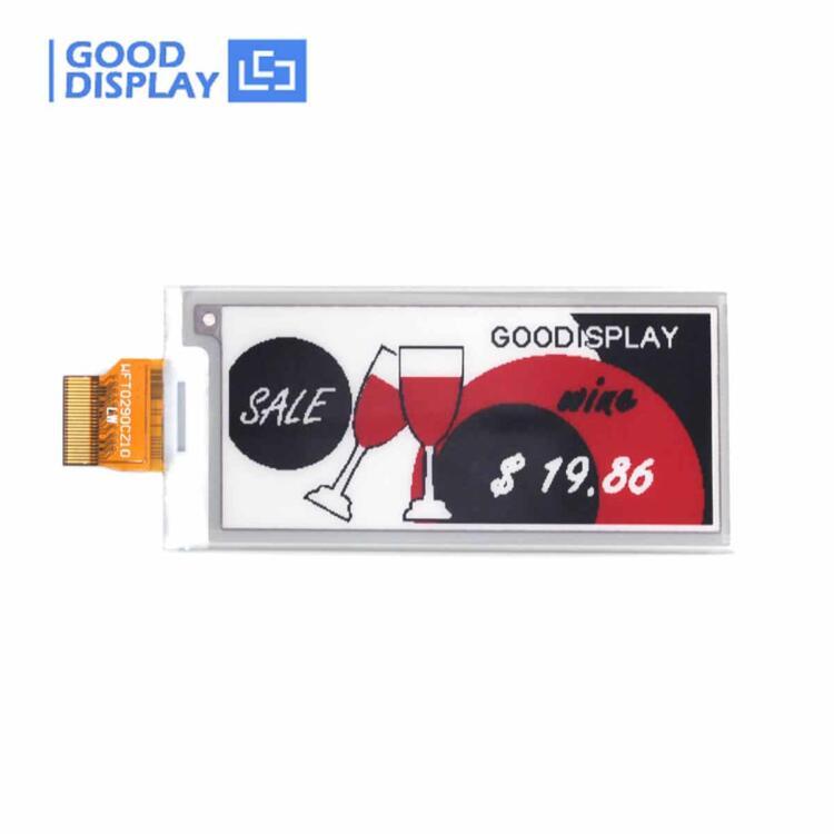 2.9 inch E-Paper UC8151D Tri-color E-ink Panel SPI interface, GDEW029Z13