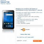 Galaxy Tab now priced $299 in Australia