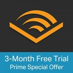 Amazon Prime Members get Free 3 Month Subscription to Audible