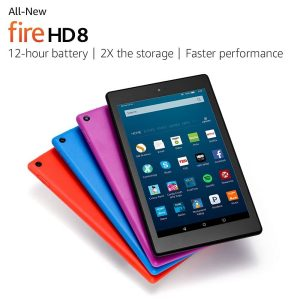 Amazon Fire HD 8 is shipping today