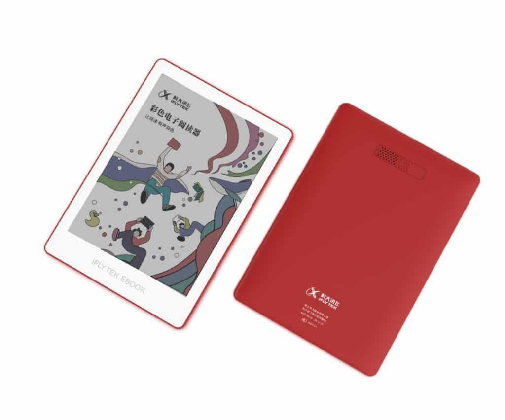 Kolorowy czytnik ebooków iFlytek