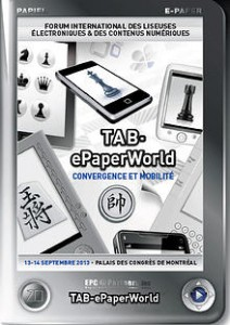ePaperWorld 2014 Conference to Be Held in Montreal