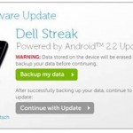 Dell Streak AT&T, Rogers versions will have FroYo update